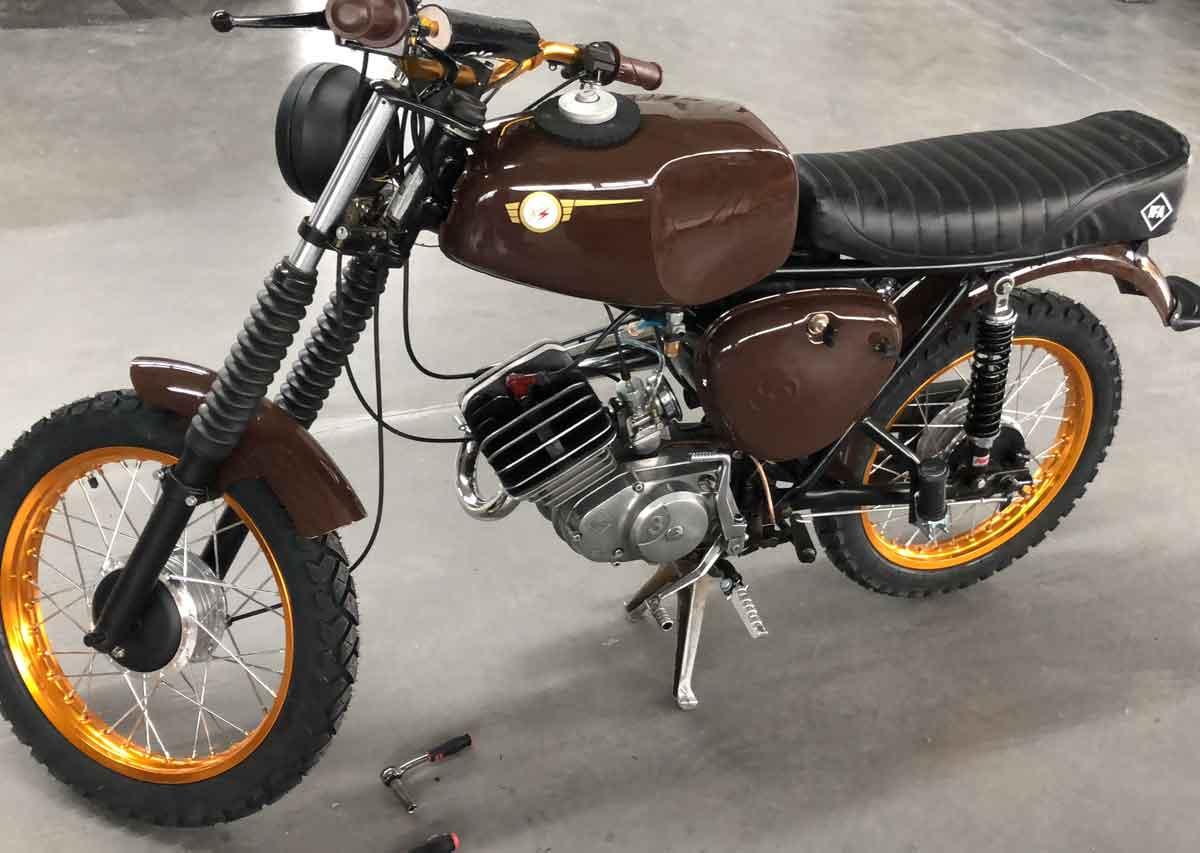 Restaurierung Motorräder |Karosserie Preißl